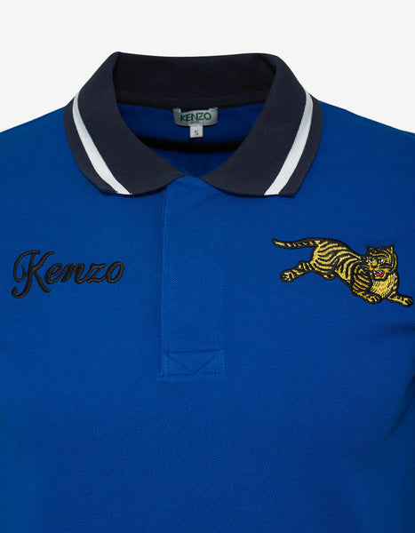 T Tiger Blue Shirt Polo Jumping OlTXuZiwPk