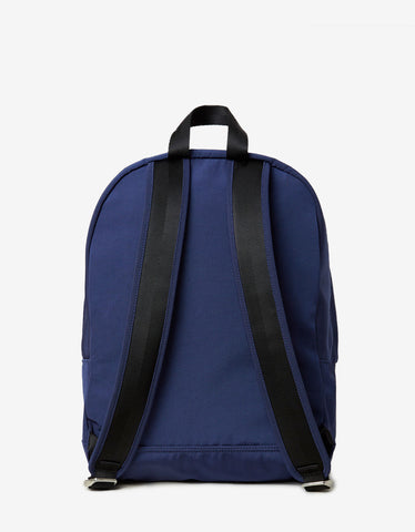 Kenzo Blue Tiger Canvas Large Backpack