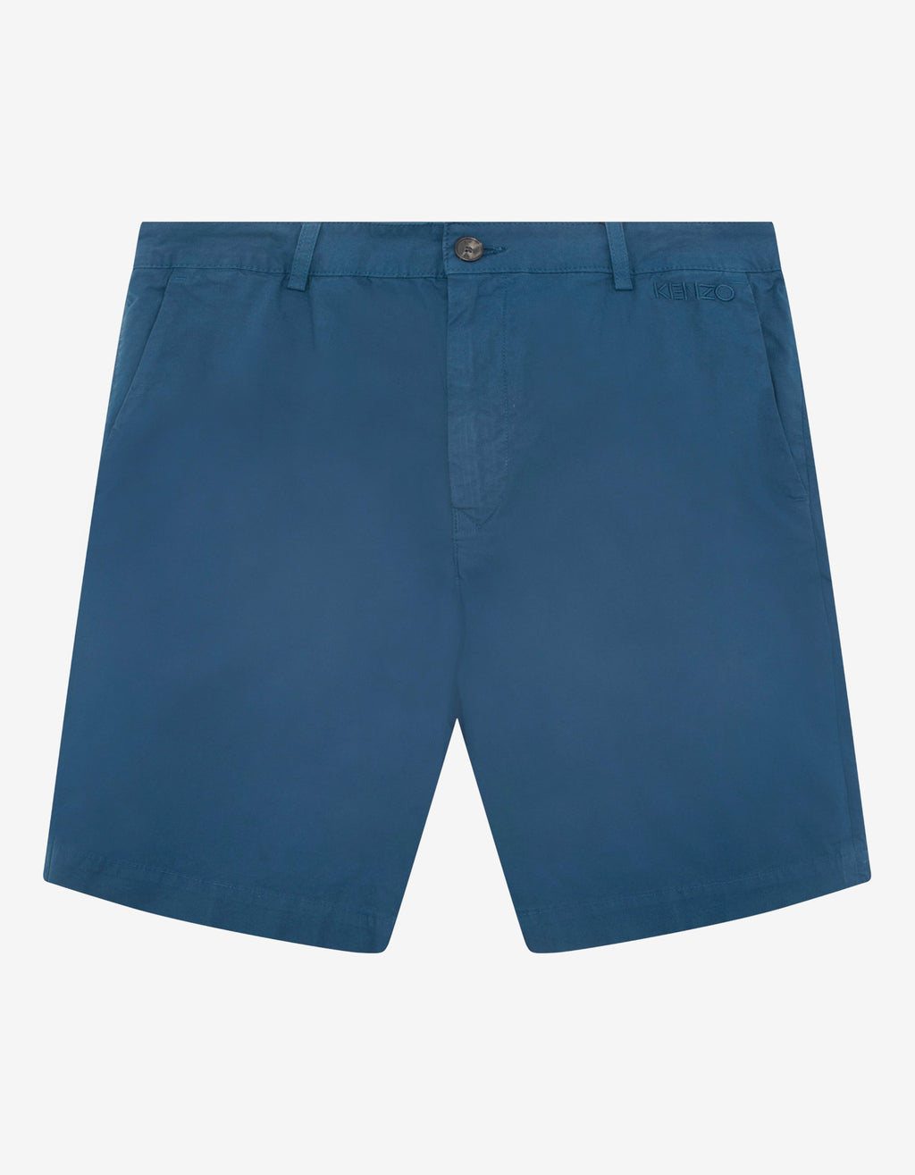 Blue Logo Chino Shorts