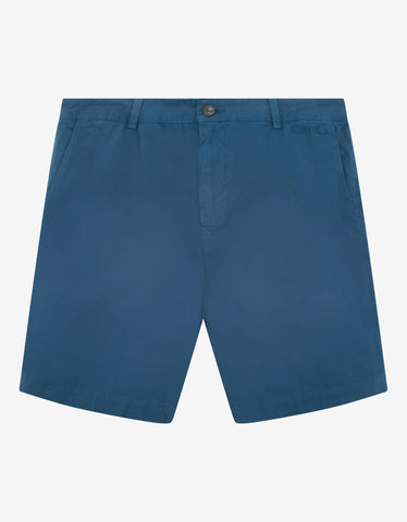 Blue Logo Chino Shorts -