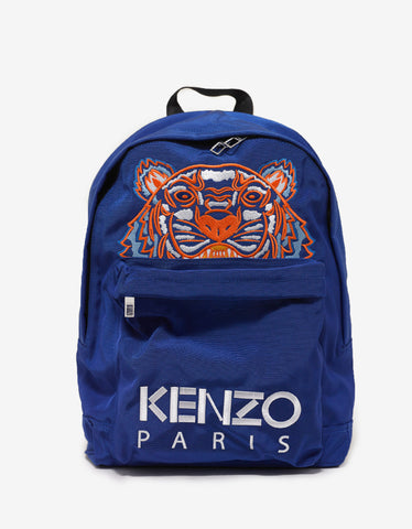 Blue Tiger Backpack