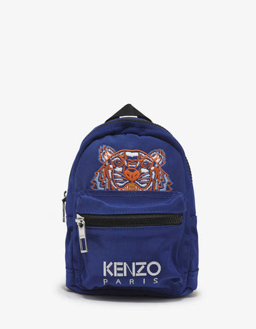 Kenzo Blue Tiger Mini Backpack
