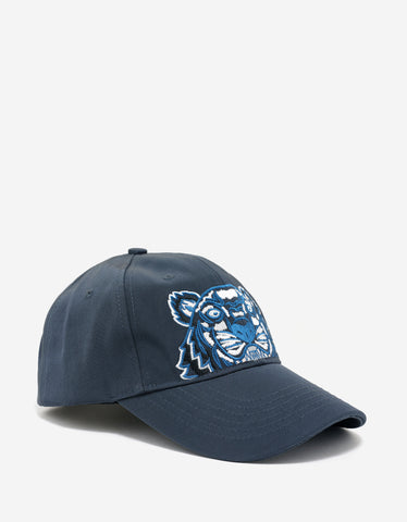Kenzo Dark Grey Tiger Embroidery Cap