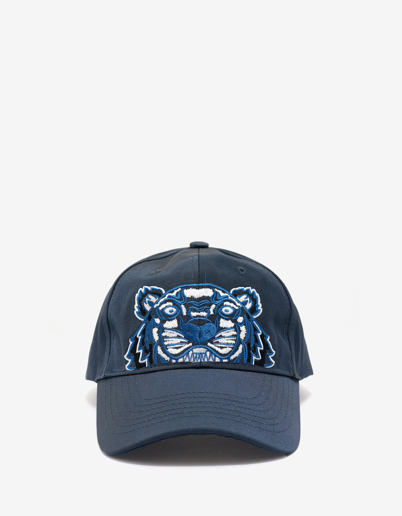 Dark Grey Tiger Embroidery Cap