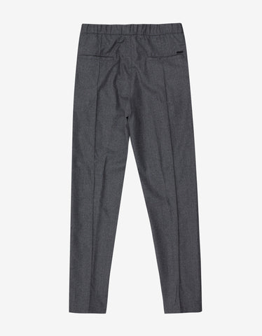 Kenzo Grey Casual Trousers