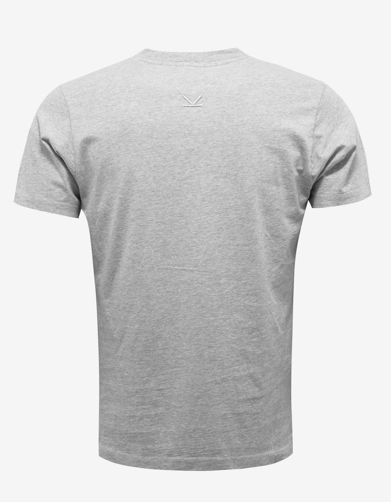 Grey Logo Print T-Shirt