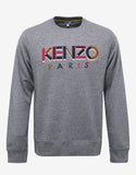 Grey Marl Logo Sweatshirt