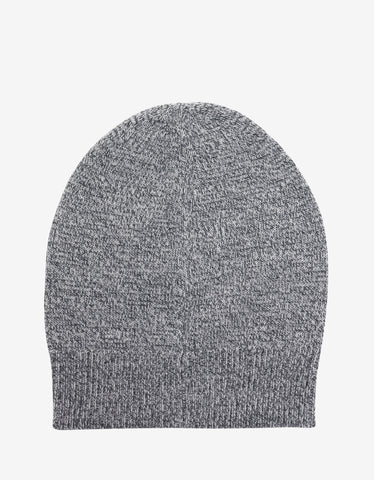Kenzo Grey Marl Tiger Head Beanie Hat
