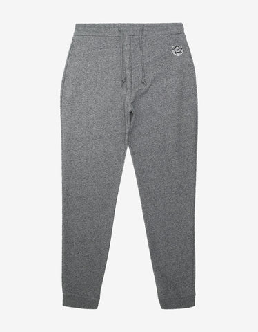 Kenzo Grey Marl Tiger Logo Sweat Pants