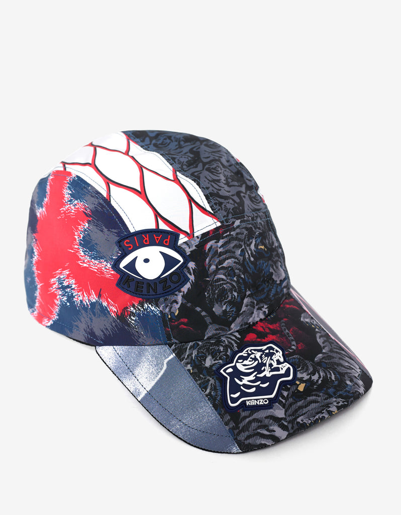 Multi-Graphic Nylon Cap