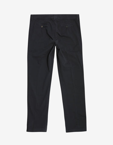 Kenzo Navy Blue Classic Chino Trousers