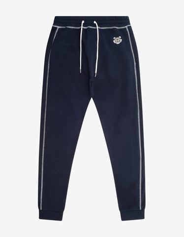 Navy Blue Eagle Logo Sweat Pants