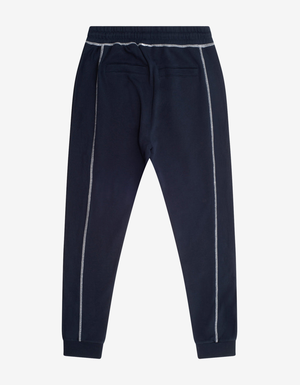 Navy Blue Tiger Crest Sweat Pants