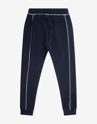 Kenzo Navy Blue Tiger Crest Sweat Pants
