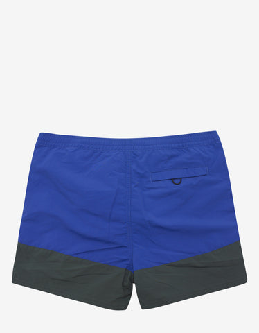 Kenzo Navy & Royal Blue Swim Shorts