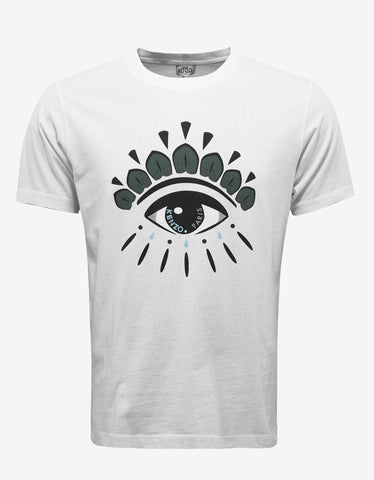Kenzo White Eye Graphic T-Shirt