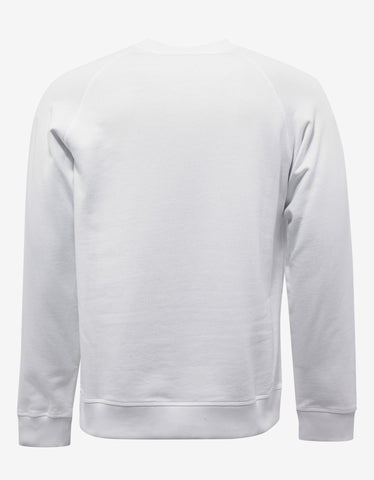 Kenzo White Tiger Head Sweatshirt