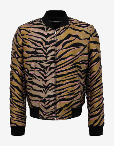 Kenzo Tiger Stripes Bomber Jacket
