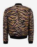 Tiger Stripes Bomber Jacket