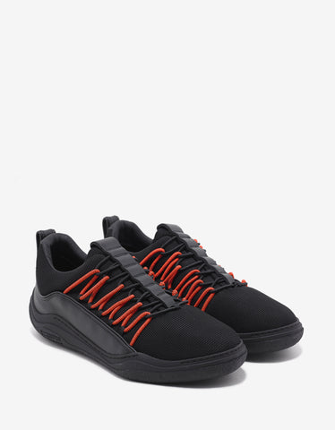 Lanvin Black Elastic Diving Trainers