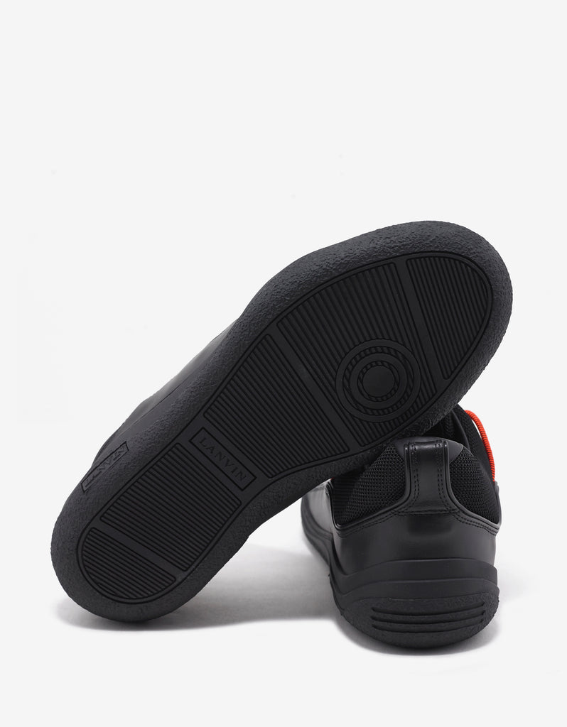 Black Elastic Diving Trainers