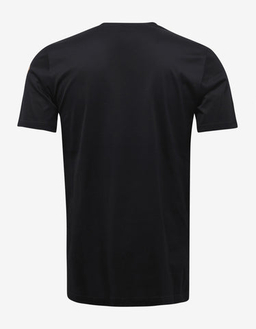 Lanvin Black Eyes Print T-Shirt