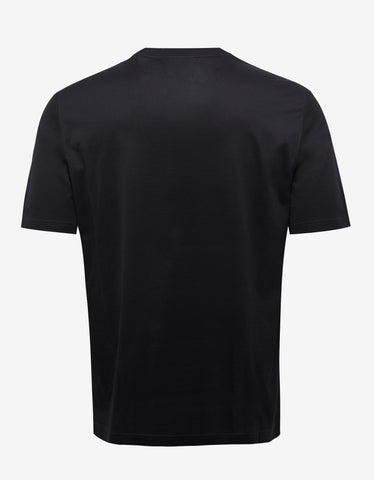 Lanvin Black Ginger Print T-Shirt