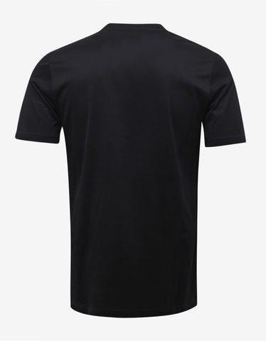 Lanvin Black Lobster Print T-Shirt