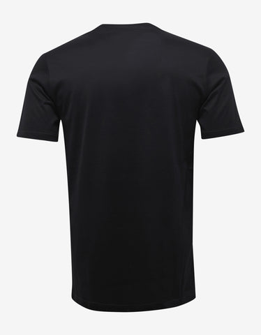 Lanvin Black Spiders Print T-Shirt