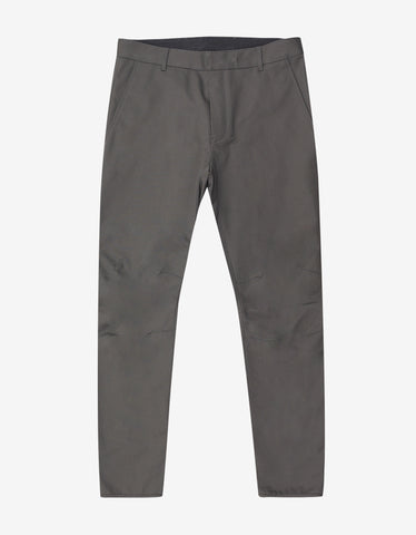 Lanvin Grey Biker Trousers
