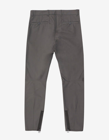 Grey Biker Trousers