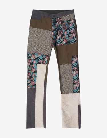 Lanvin Patchwork Panel Trousers