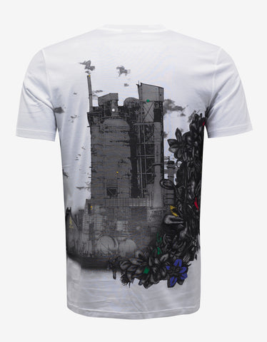 White 'The Refinery' Print T-Shirt