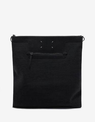 Maison Margiela Black Canvas Shopping Bag