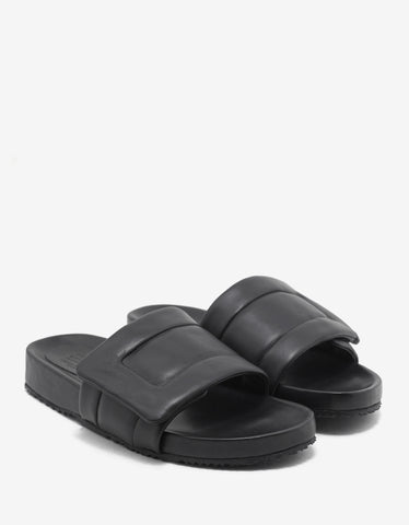 Maison Margiela Future Style Black Slide Sandals