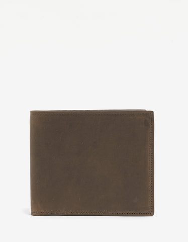 Maison Margiela Brown Leather Billfold Wallet