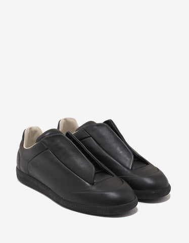 Maison Margiela Future Black Low Trainers