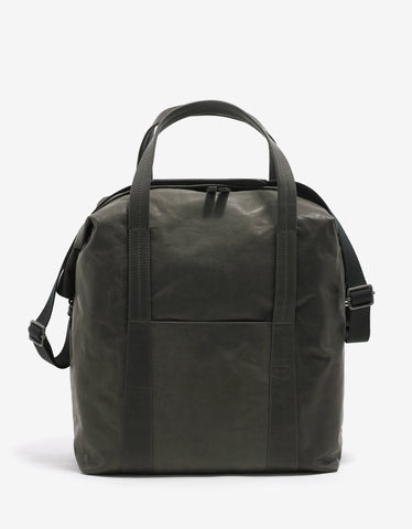 Maison Margiela Khaki Leather Sailor Bag