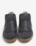 Replica Black & Brown Leather Trainers