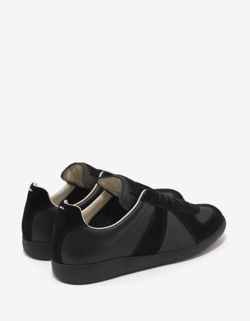 Replica Black Low Trainers