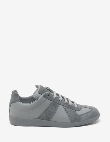 Maison Margiela Replica Grey Low Trainers