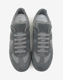 Replica Grey Low Trainers