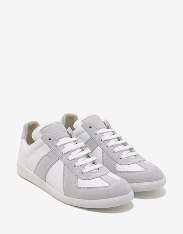 Maison Margiela Replica White Low Trainers