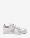 Replica White Low Trainers