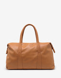 Tan Leather Weekend Bag