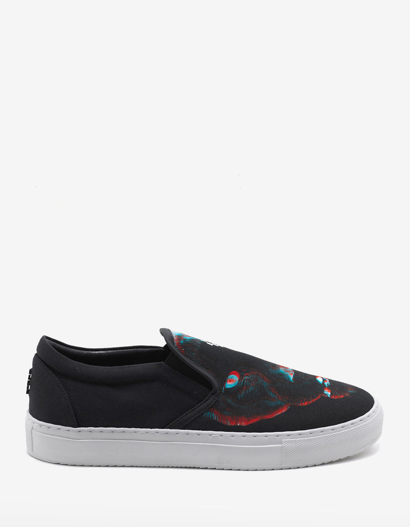 Betsy Panther Graphic Slip-On Trainers