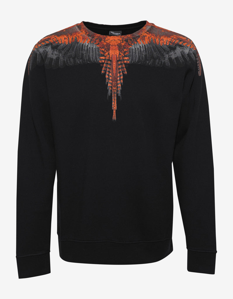 El Condor Black Graphic Print Sweatshirt