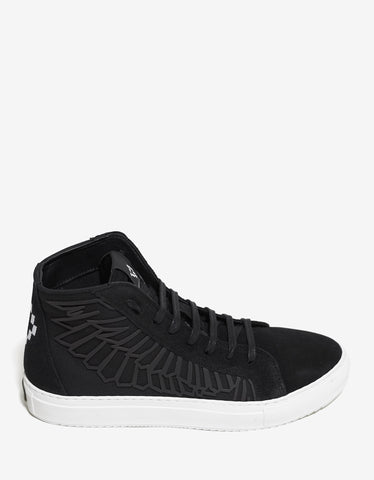 Marcelo Burlon Maipu Black Hi-Top Trainers