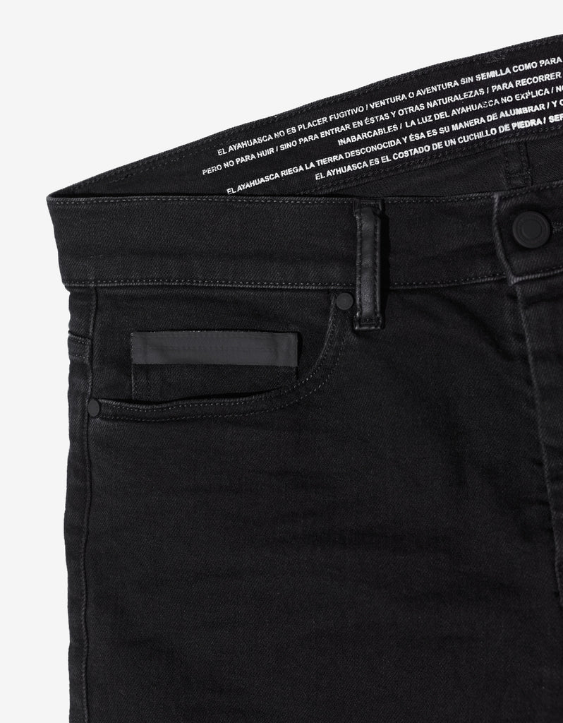 Black Slim Fit Degrade Jeans
