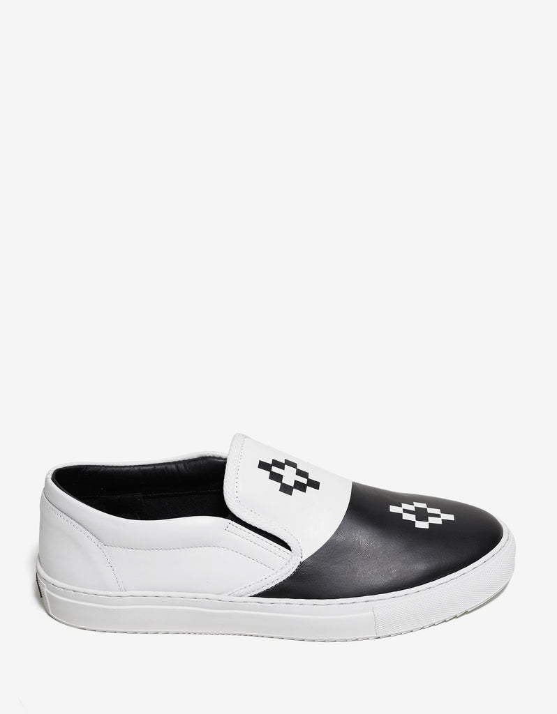 Tao Two-Tone Slip-On Trainers